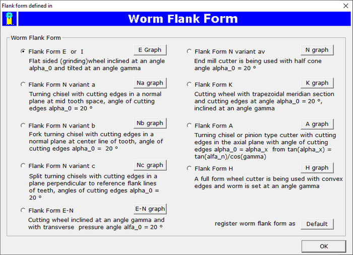 Worm Flank Form